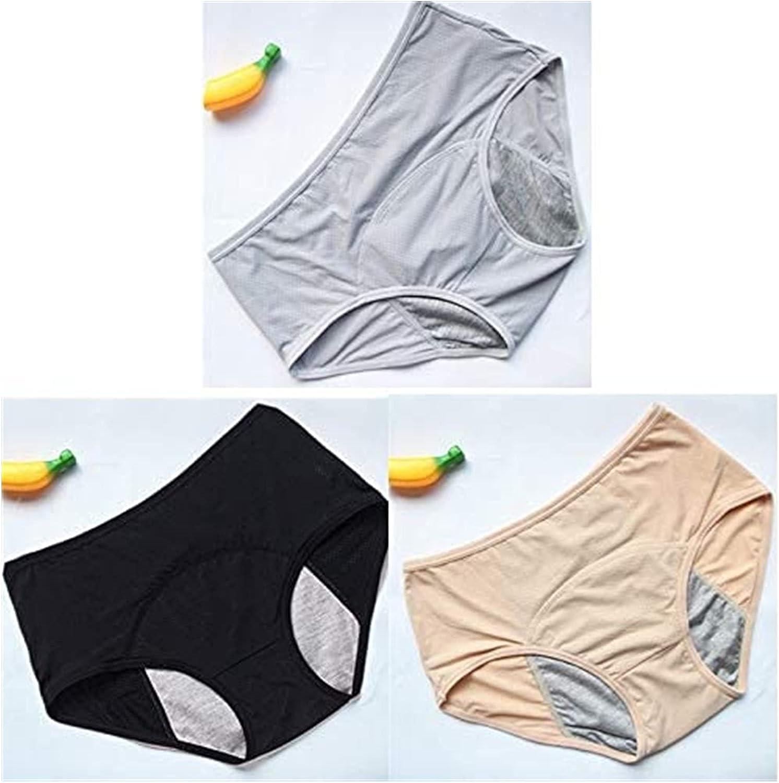 FGUD Reusable Women's Briefs Leak Menstrual Genuine Free Shipping New color PCS Proof Panties Se