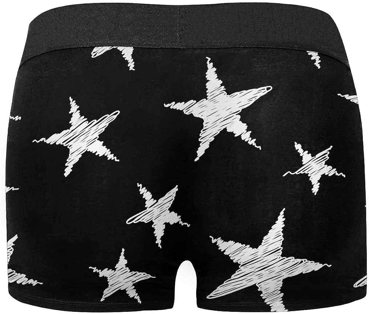 InterestPrint Custom Rainbow Unicorn Shit Pattern Boxer Brief Underwear for Mens Juniors Youth Boys XS-3XL