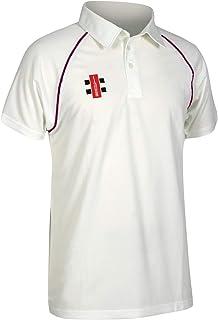 Gray-Nicolls Matrix Short Sleeve Mens Cricket Shirt