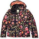 Roxy Big Jetty Girl Snow Jacket, True Black Folk Winter, 12/L