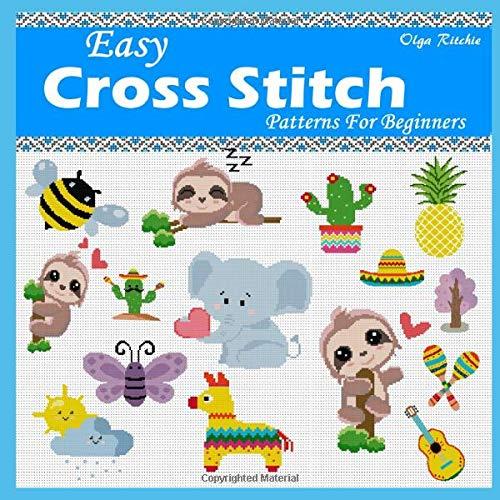 Easy Cross Stitch Patterns For Beginners: Cute Little Motifs