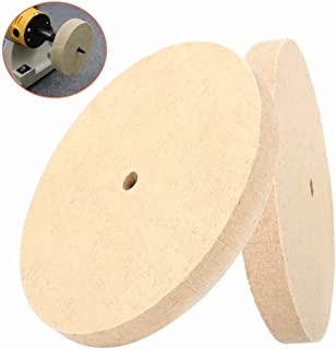 12inch Wool Felt Polishing Grinding Wheel Disc Pad used in Fine Polishing of Stainless Steel, Copper, Aluminum 300x25x16mm