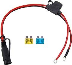 CUZEC 2FT//0.61m 14AWG SAE to Plug Socket Adapter Plug Socket with SAE Connector