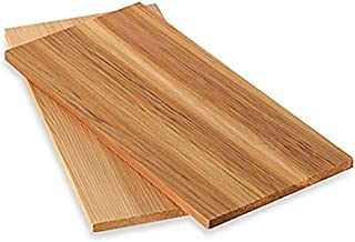 IAPYX Tablas para ahumar de madera de cedro, 4 unidades (2