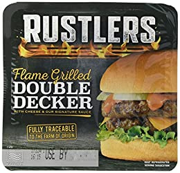 Rustlers The Flame Grilled Double Decker, 237g