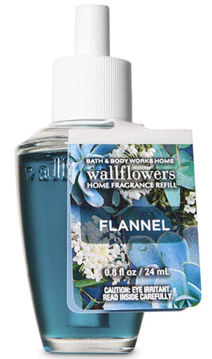 贅沢な危機掘るバス&ボディワークス フランネル ルームフレグランス リフィル 芳香剤 24ml (本体別売り) Bath & Body Works
