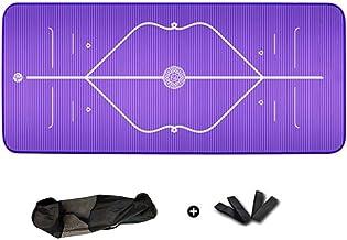 WZHYOGAMAT Kurk Anti-slip Fitness Yoga Mat Oefening Mat kan worden uitgebreid voor Pilates/Stretching/Sit-ups Multi-color ...