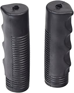 AlveyTech M100 Black Vinyl Handle Grips for Wheelchairs (Set of 2)