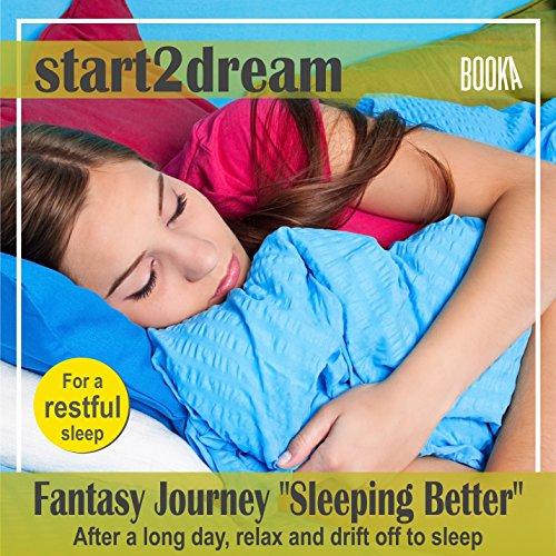"Guided Meditation ""Sleeeping Better"" audiobook cover art"