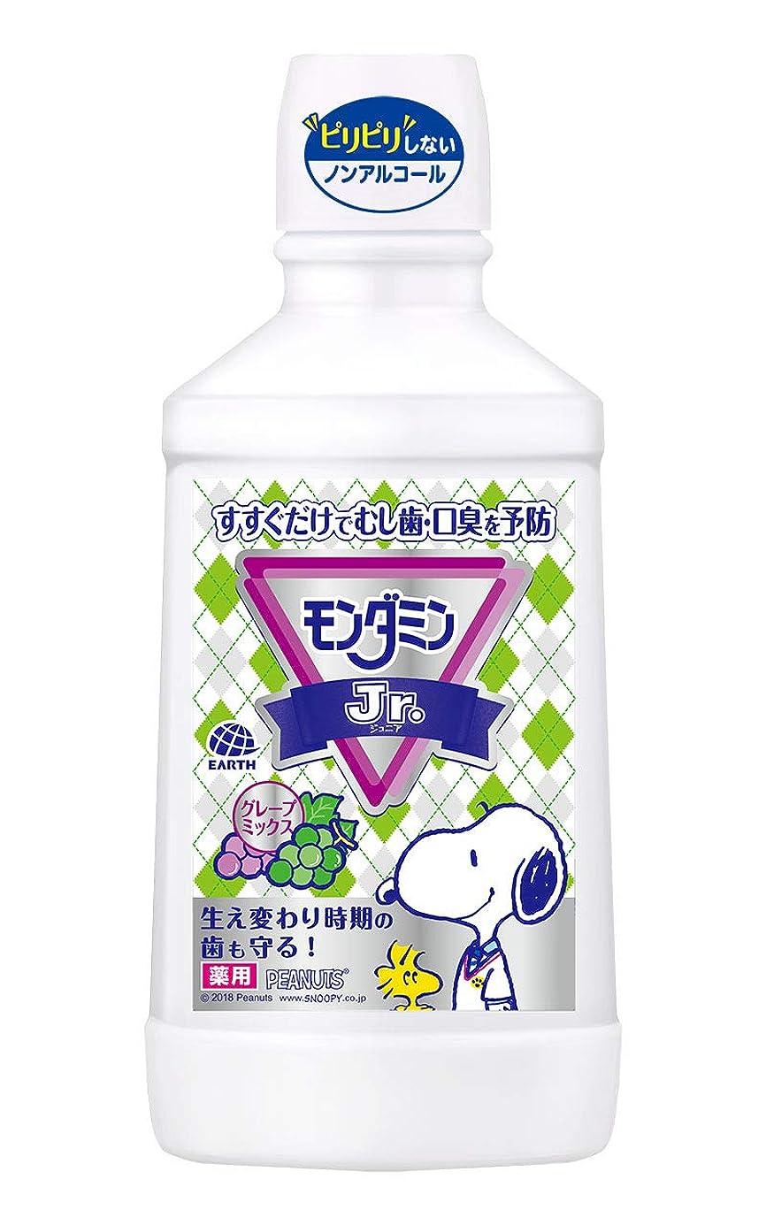 依存ブラジャー運命【医薬部外品】モンダミンJr. グレープミックス味 子供用 [600mL]