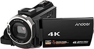 اندوير فل اتش دي اتش دي دي & فلاش ميموري 4K وضوح ,تكبير البصري 16x وشاشة 3 انش -D5120B