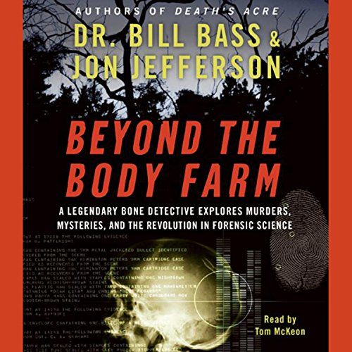 Beyond the Body Farm audiobook cover art