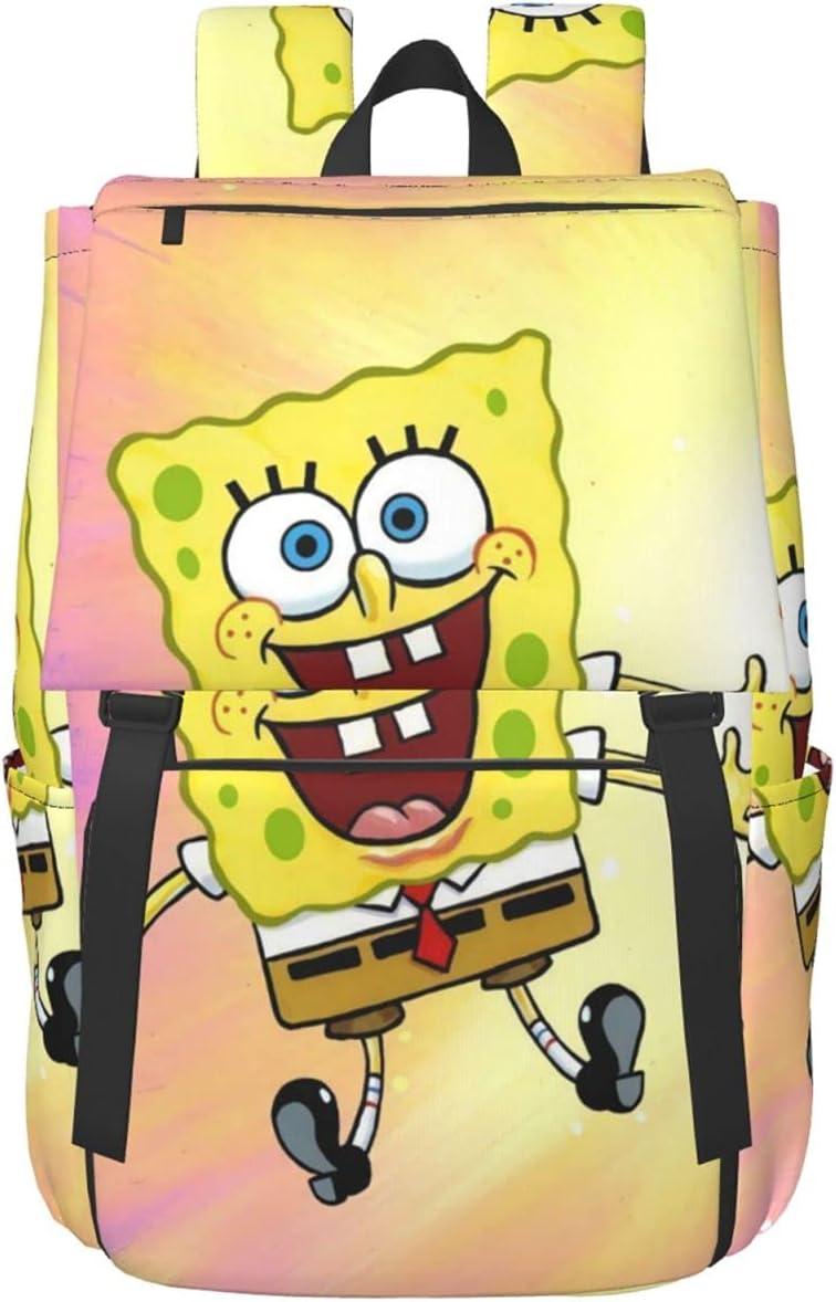 Sales Indefinitely of SALE items from new works SpongeBob SquarePants Adults School Casual Travel Bag Zipper