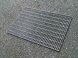 M.P. Metalli Grigliato modulare bordato zincato m.25x76 piatto 25x2 pedonale 1000 mm x 1000 mm Made in Italy