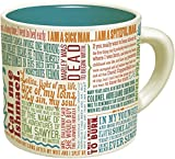 First Lines Literature Coffee Mug - The Greatest Opening Lines Of Literature, From Anna Karenina to...