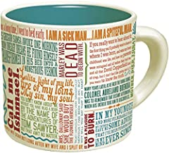 Featuring 24 opening lines of some of the greatest works of literature. 12 oz. mug. Dishwasher and microwave safe. From the Unemployed Philosophers Guild. Don't worry. We are employed, just not as philosophers. We're a small, Brooklyn based company s...