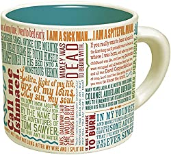 Book Quote Gifts - mug