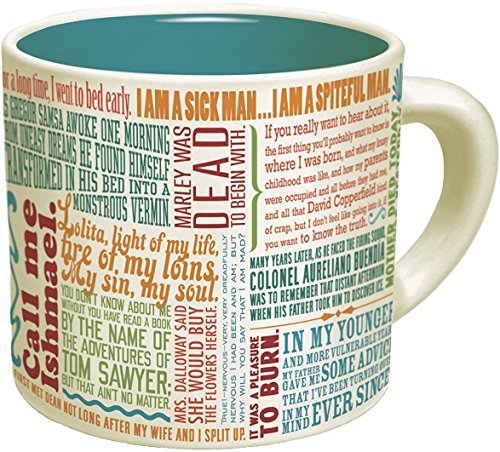The Greatest Opening Lines Of Literature Mug
