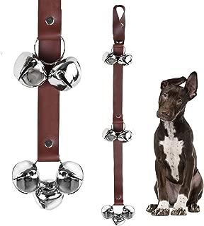 QUXIANG Dog Doorbells Premium Leather Dog Doorbells Premium Quality Training Potty Great Dog Bells Adjustable