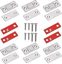FOCCTS Magneetsluiters, kastdeur, magneet, deurvanger, vergrendeling, ultradunne meubelmagneet, sterke magnetische vang, m...