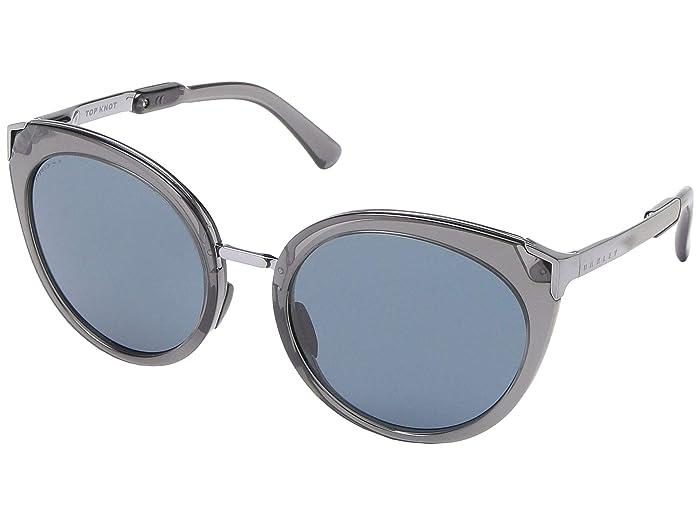 Oakley 56 mm Top Knot (Onyx) Fashion Sunglasses