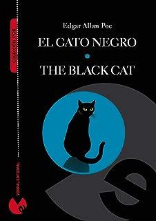 El gato negro (edición bilingüe español-inglés) (Anotada e ilustrada) (Colección Poe) (Spanish Edition)