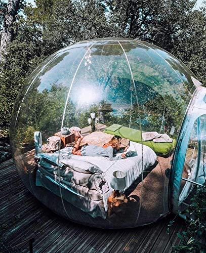 FJNS Burbuja Inflable Hotel Balldiameter 3M Tienda de Burbujas para Acampar Hermosa...