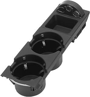 Godyluck Reemplazo del Inserto de la Consola Delantera Central del portavasos Doble para E39