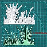 水生植物金属切削ダイ2020リードは、ステンシルのためにスクラップブッキングDIYフォトアルバムカードは、装飾的なテンプレートを作るダイ