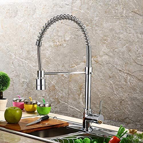 Waterkraan keuken eengreepsmengkraan wastafelarmatuur spoelbak mengkraan gootsteen kraan in de muur badkamer keuken prijs keuken warm en koud water mengkraan