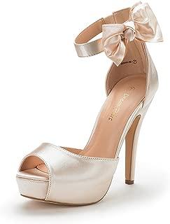 Women's Swan-08 High Heel Platform Dress Pump Sandals