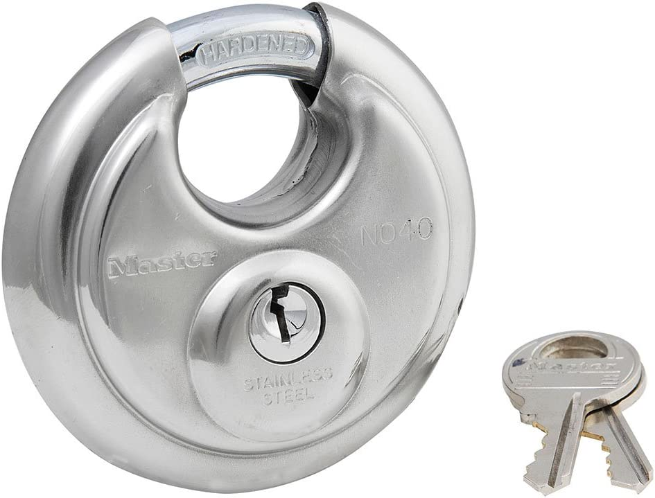 Complete Free Shipping Master Lock 40DPF 12 Pack 2-3 Discus P Direct stock discount 4in. Wide Stainless Steel