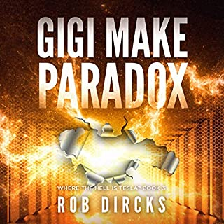 Gigi Make Paradox  audiobook cover art