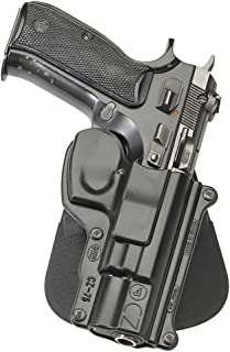 Fobus Standard Holster RH Paddle CZ75 CZ-75/ 75BD/ 85/ Cadet .22/ 75D compact 9mm