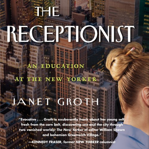 The Receptionist audiobook cover art