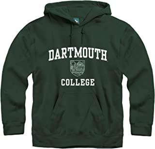 Ivysport Hoodie Sweatshirt, Premium Cotton, Classic Arch with University Crest Logo