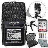 Zoom H2n Tragbares Digital Audio Recorder Bundle mit 16 GB