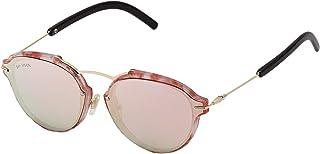 Sky Vision Panto Sunglasses for Women, Pink Lens, SV53523