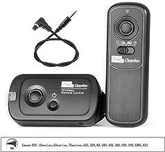 Pixel RW221 N3 Wireless Timer Shutter Release Remote Control for Canon EOS 1Dseries,5Dseries,7Dseries,5D2,5D3,6D,50D,40D,30D,20D,20D,5DRS,6D2