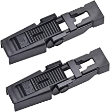 OTUAYAUTO Front Wiper Blade Arm Retaining Clip for Range Rover 2003-2012, Discovery 2 1998-2004 - Replace OEM#: DKW100020 (pack of 2)