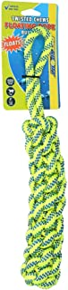 Petsport Floating Braided Cotton Rope Bumper Dog Toy for Medium to Large Dogs
