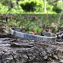 Towanda! - Ninny Threadgooge Fried Green Tomatoes - Whistle Stop Cafe - best friends bracelet - alabama gift