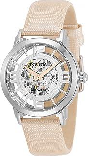 Invicta Objet D Art Automatic Silver-Tone Dial Ladies Watch 32291