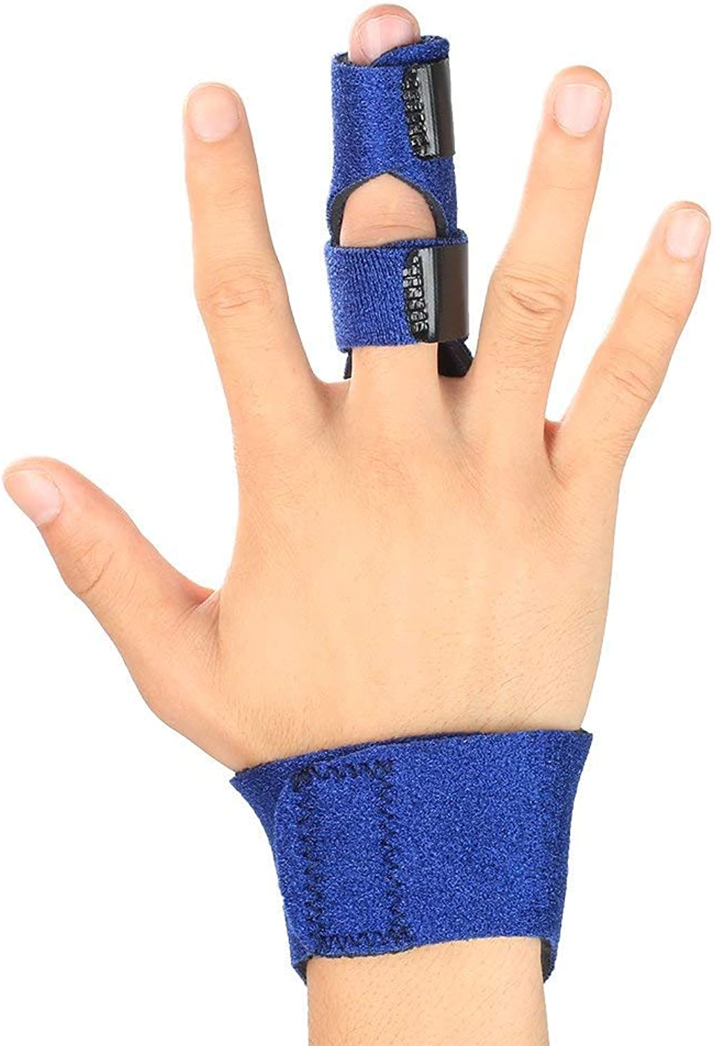 Finger Extension Splint Support Brace for Trigger PostOperative Care and Pain Relief Malleable Metallic Hand