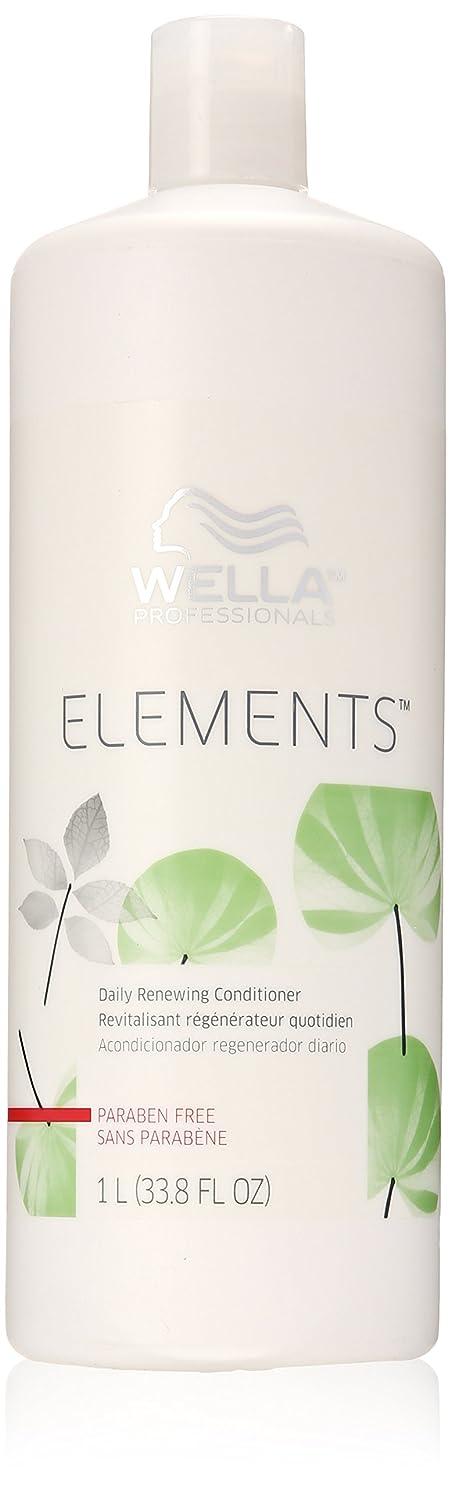エミュレートする代表団町Wella Elements Conditioner, 33.8 Ounce