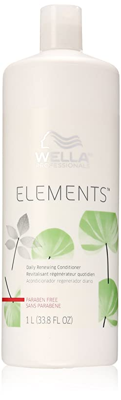 韻オデュッセウス司書Wella Elements Conditioner, 33.8 Ounce