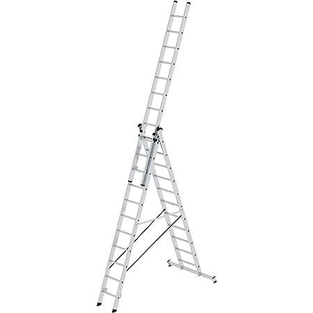 Alu Leiter 3x11 Sprossen