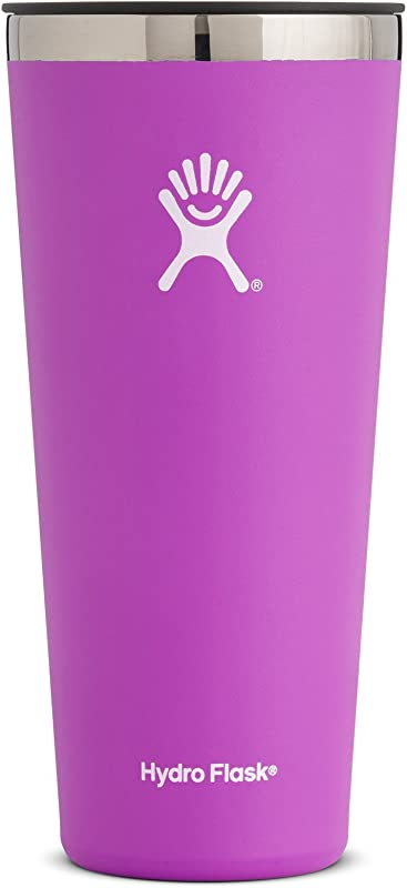 Hydro Flask 32 Oz Tumbler Cup Stainless Steel Vacuum Insulated Press In Lid Raspberry