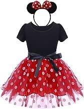 Mickey Minnie Mouse Oreilles Serre-tête Alice Band robe fantaisie tacheté Bow