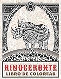 Rinoceronte - Libro de colorear